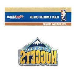 New NBA Denver Nuggets Car Truck 3-D Color Aluminum Emblem /