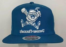 NEW Zephyr Denver Nuggets Teal Blue Mascot Baseball Cap Hat