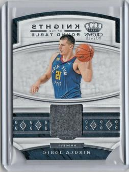 Nikola Jokic 2019-20 Crown Royale Knights of the Round Table