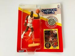 Starting Lineup Dominique Wilkins 1991 Atlanta Hawks w Tradi