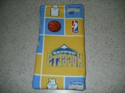 Sunglass / Eyeglass Soft Fabric Case- Denver Nuggets - NBA -