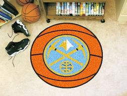 Fanmats Sports Team Logo NBA - Denver Nuggets Basketball Mat