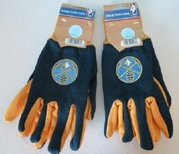 TWO  PAIR OF DENVER NUGGETS, SPORT UTILITY GLOVES FROM FOREV