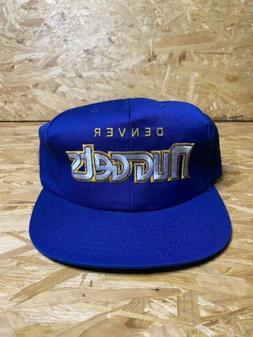 Vintage 90s / NWT / Starter Denver Nuggets Hat / NBA Cap Sna