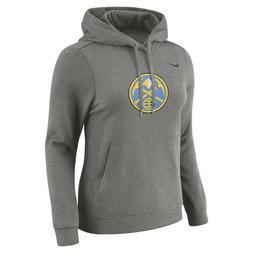 Nike Women's NBA Denver Nuggets Hoodie Sweater Pullover 9130